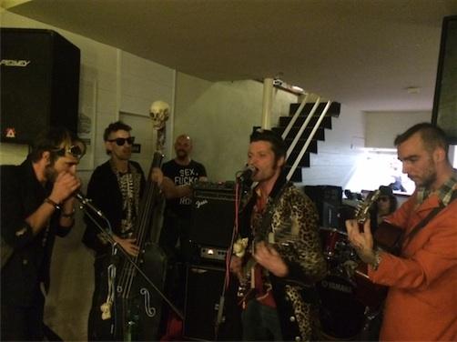 la banda punkabilly  The Bonnes