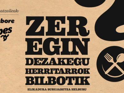 Jornadas sobre soberanía alimentaria en Bilbao